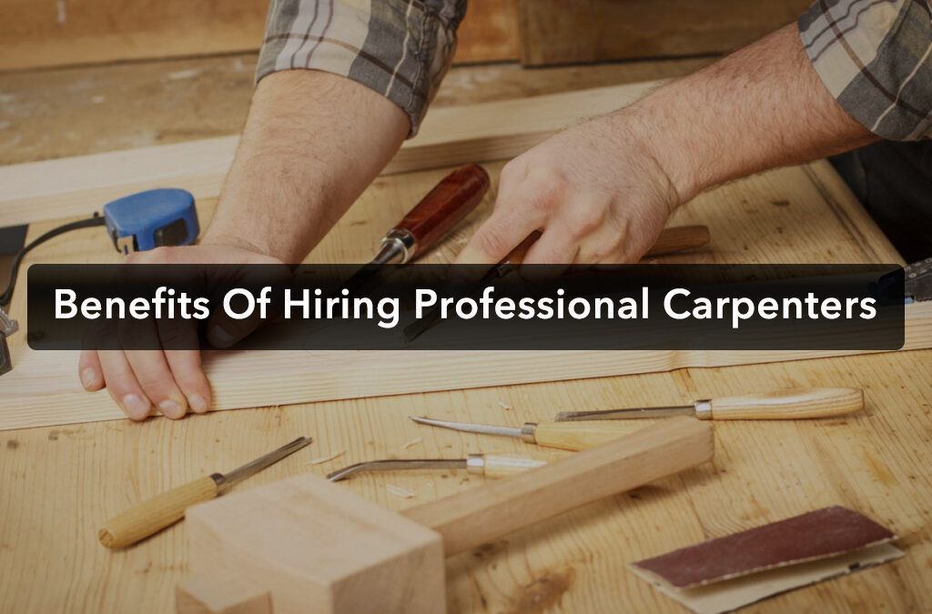 Why You Should Hire Professional Carpenters in Dublin?